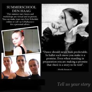 Studio Classes and Virtual Ballet
